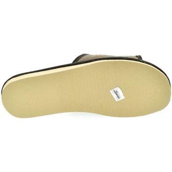 Boty Muži Papuče John-C Pánske sivé papuče LEOL sivá