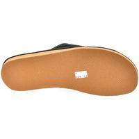 Boty Muži Papuče John-C Pánske sivočierne papuče VIPMEN čierna