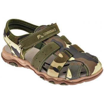 Boty Chlapecké Sandály Lumberjack  Zelená