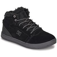 Boty Děti Kotníkové tenisky DC Shoes CRISIS HIGH WNT Černá