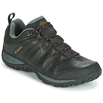 Boty Muži Multifunkční sportovní obuv Columbia WOODBURN II WATERPROOF Černá