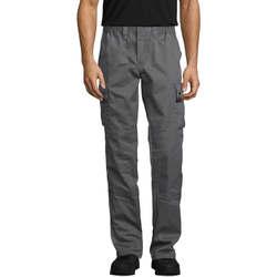Textil Cargo trousers  Sols ACTIVE PRO WORKS Gris