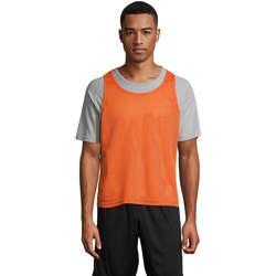 Textil Tílka / Trička bez rukávů  Sols ANFIELD SPORTS Naranja