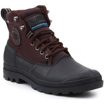 Boty Muži Kotníkové boty Palladium Sport Cuff WP 2.0 75567-222-M brown, black