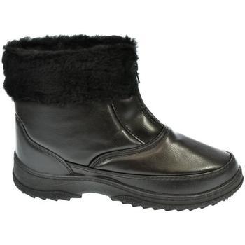 f833e25e3492d John-C Zimní boty Dámske čierne členkové čižmy INORA - Černá