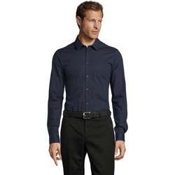 Textil Muži Košile s dlouhymi rukávy Sols BLAKE MODERN MEN Azul