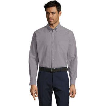Textil Muži Košile s dlouhymi rukávy Sols BOSTON STYLE OXFORD Plata