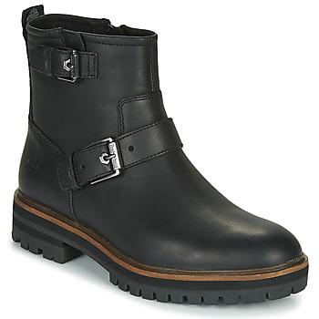 Boty Ženy Kotníkové boty Timberland LONDON SQUARE BIKER Černá