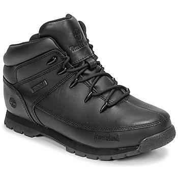 Boty Děti Kotníkové boty Timberland EURO SPRINT Černá