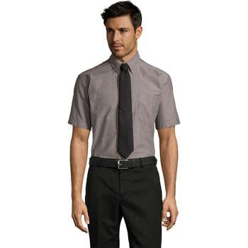 Textil Muži Košile s krátkými rukávy Sols BRISBANE ORIGINAL WORK Plata