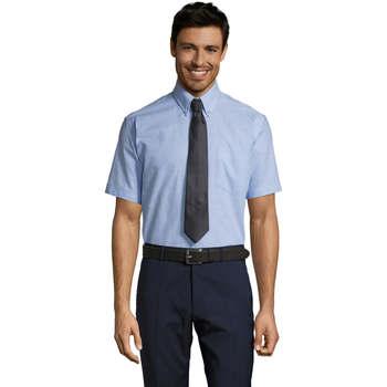 Textil Muži Košile s krátkými rukávy Sols BRISBANE ORIGINAL WORK Azul