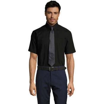 Textil Muži Košile s krátkými rukávy Sols BRISBANE ORIGINAL WORK Negro