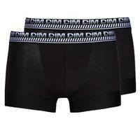 Spodní prádlo  Muži Boxerky DIM 3D FLEX STAY & FIT X 3 Černá