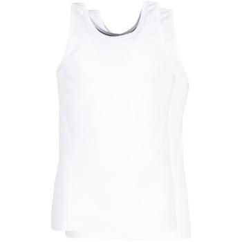 Spodní prádlo  Muži Tílka  DIM X-TEMP TOPS X 2 Bílá