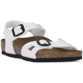 Boty Chlapecké Sandály Birkenstock RIO WHITE Bianco