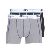 Spodní prádlo  Muži Boxerky Champion UNI X2 Černá / Šedá
