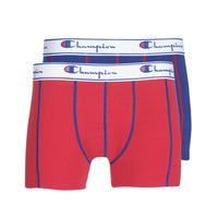Spodní prádlo  Muži Boxerky Champion UNI X2 Červená / Modrá