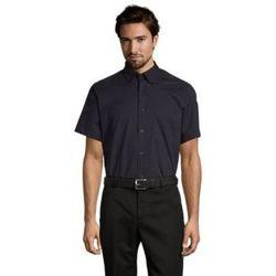 Textil Muži Košile s krátkými rukávy Sols BROOKLYN TWILL DAY Azul