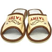 Boty Ženy Papuče John-C Dámske béžové papuče TATRY béžová