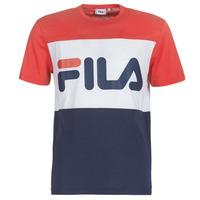 Textil Muži Trička s krátkým rukávem Fila DAY TEE Tmavě modrá / Červená / Bílá