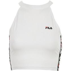 Textil Ženy Halenky / Blůzy Fila Wn's Melody Cropped Top Bílá
