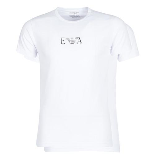 Textil Muži Trička s krátkým rukávem Emporio Armani CC715-111267-04712 Bílá