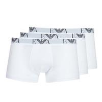 Spodní prádlo  Muži Boxerky Emporio Armani CC715-111357-16512 Bílá