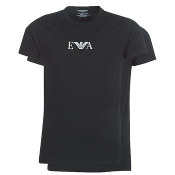 Textil Muži Trička s krátkým rukávem Emporio Armani CC715-111267-07320 Černá