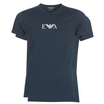 Textil Muži Trička s krátkým rukávem Emporio Armani CC715-111267-27435 Tmavě modrá
