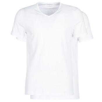 Textil Muži Trička s krátkým rukávem Emporio Armani CC722-111648-04710 Bílá
