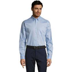 Textil Muži Košile s dlouhymi rukávy Sols BUSSINES MODERN MEN Azul