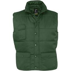 Textil Muži Prošívané bundy Sols EQUINOX PRO WORKS Verde