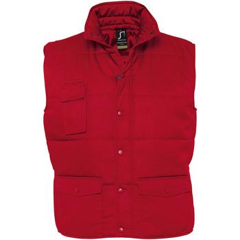 Textil Muži Prošívané bundy Sols EQUINOX PRO WORKS Rojo