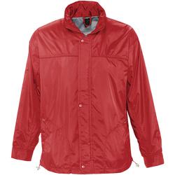 Textil Větrovky Sols MISTRAL HIDRO SWEATER Rojo
