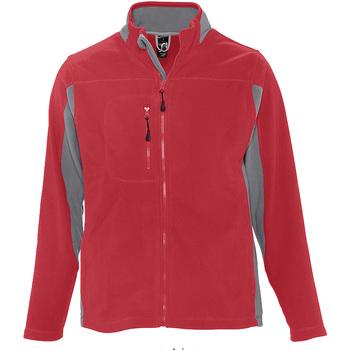 Textil Muži Fleecové bundy Sols NORDIC POLAR MEN Rojo