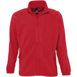 Textil Muži Fleecové bundy Sols NORTH POLAR MEN Rojo