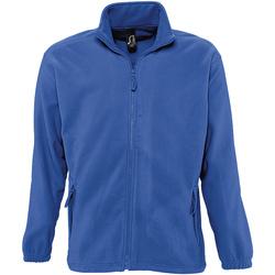 Textil Muži Fleecové bundy Sols NORTH POLAR MEN Azul