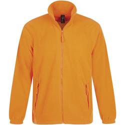 Textil Muži Fleecové bundy Sols NORTH POLAR MEN Naranja