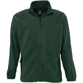 Textil Muži Fleecové bundy Sols NORTH POLAR MEN Verde