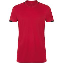 Textil Muži Trička s krátkým rukávem Sols CLASSICO SPORT Rojo