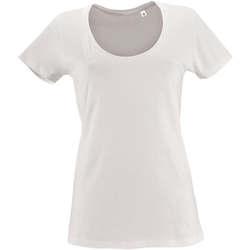 Textil Ženy Trička s krátkým rukávem Sols METROPOLITAN CITY GIRL Blanco