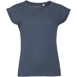 Textil Ženy Trička s krátkým rukávem Sols MELBA TROPICAL GIRL Azul