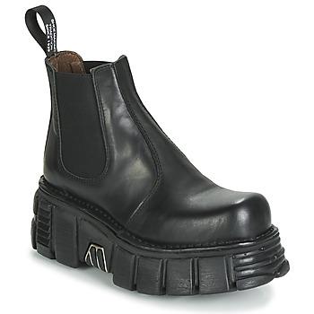 Boty Ženy Kotníkové boty New Rock M-1554-C1 Černá