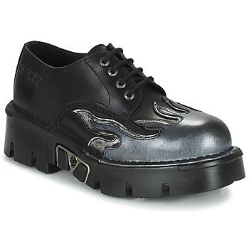 Boty Muži Šněrovací polobotky  New Rock M-1553-C3 Černá