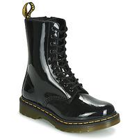 Boty Ženy Kotníkové boty Dr Martens 1490 PATENT LAMPER Černá