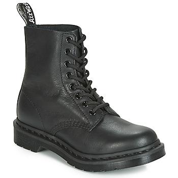 Boty Kotníkové boty Dr Martens 1460 PASCAL MONO Černá