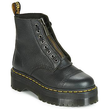 Boty Ženy Kotníkové boty Dr Martens SINCLAIR AUNT SALLY Černá