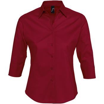Textil Ženy Košile / Halenky Sols EFFECT ELEGANT Rojo