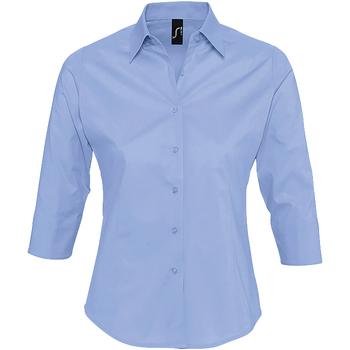 Textil Ženy Košile / Halenky Sols EFFECT ELEGANT Azul