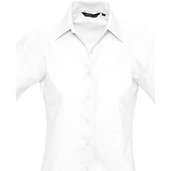 Textil Ženy Košile / Halenky Sols ELITE OXFORD Blanco